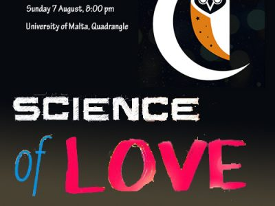 Science of Love – Malta Cafe Scientifique at Evenings on Campus