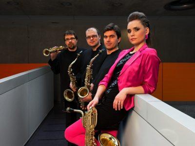 Bohemia Saxophone Quartet in Concert