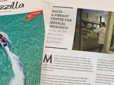 Air Malta supports RIDT's efforts to raise funds for research