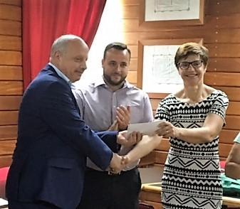 LifeCycle Malta Foundation makes Donation to University of Malta