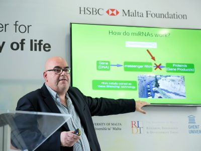 HSBC Malta Foundation supports cancer research with €84,000 donation