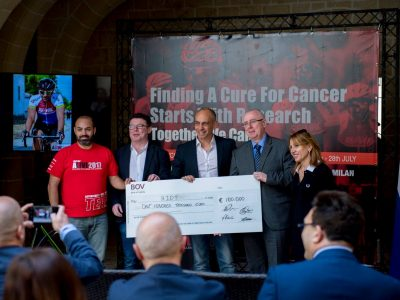 ALIVE Charity Foundation donates €100,000 for University cancer research