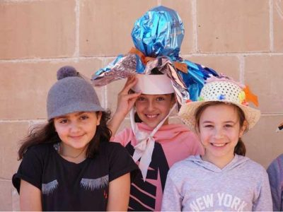 Chiswick House School celebrates 'Wear a Hat day' for research
