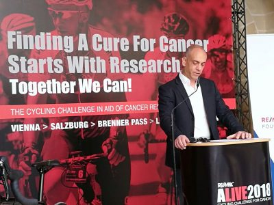 €500,000 for cancer research in 5 years